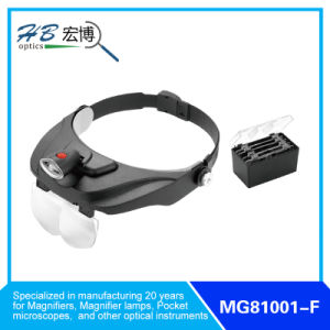 Head Magnifier with LED Lamp pictures & photos