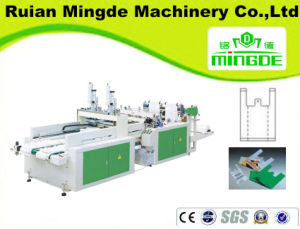 Fully Automatic Film Sealing and Cuting Four Lines Bag-Making Machine pictures & photos