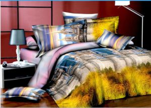 Wholesale Jeans Design 3D Bedding Set pictures & photos