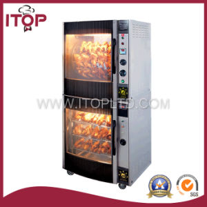 Electric Chicken Rotisseries with Warmer (ER-36B) pictures & photos