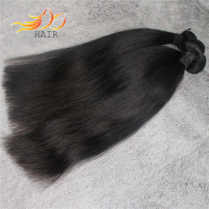 Natural Color Unprocessed Silky Straight Virgin Peruvian Hair Extension pictures & photos