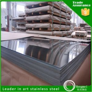 304 Mirror Polished Stainless Steel Sheet for Wall Covering Panels pictures & photos