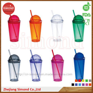 16oz BPA Free Straw Tumbler with Cap (SD-B301) pictures & photos