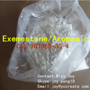 Aromasin / Exemestane Acetate Anti Estrogen Steroid CAS 107868-30-4 for Anti-Aging Anti-Cancer