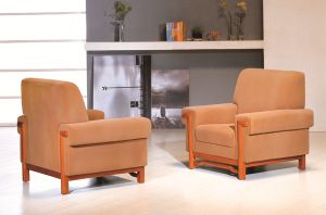 Soft Widely Use Leather Sofa in Polan (FOH-6682) pictures & photos