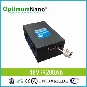 Lithium Ion 48V 200ah Solar Battery for 10kwh Solar System pictures & photos