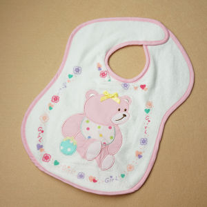 DIY Cute Soft Bamboo Cotton Baby Bibs Factory pictures & photos