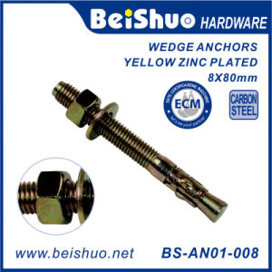 Construction Carbon Steel Expansion Bolt Wedge Anchor pictures & photos