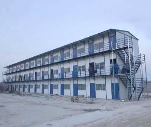 Three Story Cheap Price Prefab Prefabricated House pictures & photos