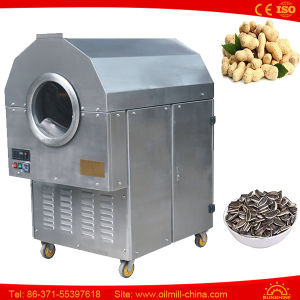 Macadamia Nut Drum Small Flax Seeds Commercial Roasting Machine pictures & photos