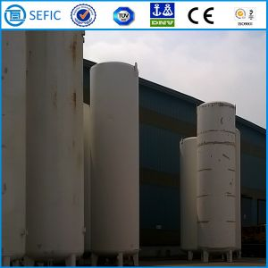 20m3 X 0.8MPa Low Pressure Cryogenic Liquid Nitrogen Tank (CFL-20/0.8) pictures & photos