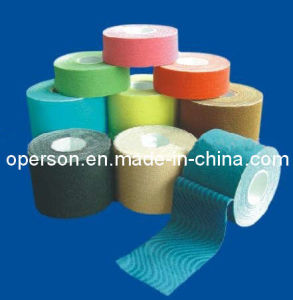 Cotton Muscle Kinesiology Tape Approved by CE and ISO pictures & photos