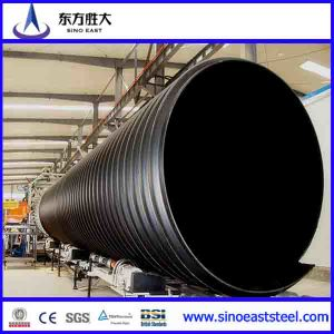 All Types of HDPE Double Wall Corrugated Drainage Pipes pictures & photos