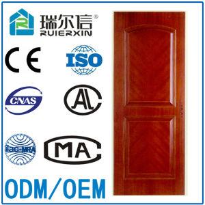 High Quality Green Environmental Wood Fire Door