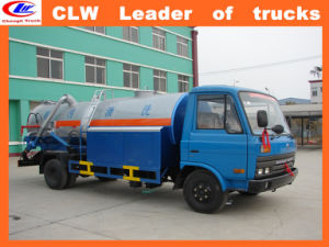 Dongfeng Sewage Vacuum Trucks LHD Sewage Sucking Truck pictures & photos