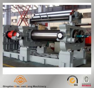 Rubber Open Two Roll Mixing Mill with Stock Blender SGS, BV, ISO pictures & photos