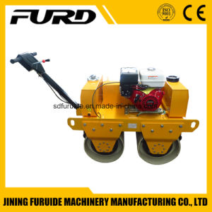 Diesel Engine Double Drum Hand Asphalt Roller pictures & photos