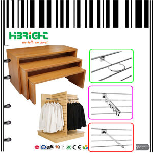 Clothes Store Promotional Wooden Display Table pictures & photos