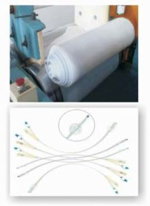 Solid Silicone Rubber for Medical Sacculus (SR2033-XXMA/MB)