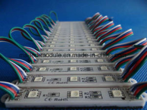 DC12V 3chips Waterproof RGB5050 SMD LED Module for Sign Box pictures & photos