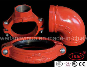 Epoxy Grooved Reducing Flexible Coupling with FM/UL Listed pictures & photos
