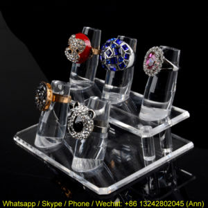 Hot Sale Acrylic Ring Display Stand pictures & photos
