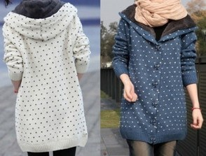 Winter Sweater Coat with Thickened (BTQ037) pictures & photos