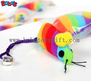 Colorful Plush Soft Mouse Pet Toy with Squeaker for Cat Bosw1081/12cm pictures & photos
