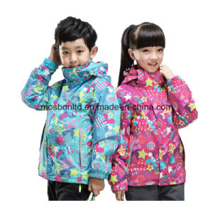 Fashion Good Quality Windproof Thermal Ski Jacket for Children pictures & photos