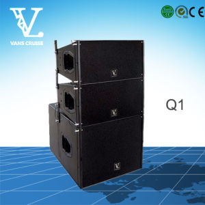 Q1 Double 10inch 2-Way Line Array Speaker for PA System pictures & photos