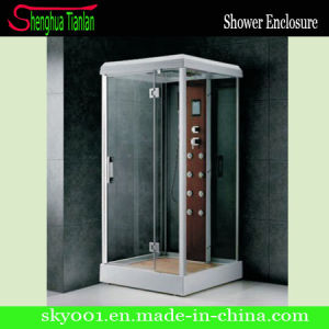Hangzhou New Style Rectangle Steam Shower Cabinet with Low Tray (TL-8853) pictures & photos