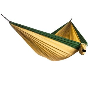 Enjoy Portable Parachute Nylon Fabric Travel Camping Hammock for Double Two pictures & photos