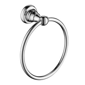 High Quality Brass Towel Ring in Chrome for Hotel Decor pictures & photos