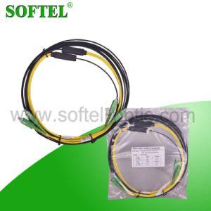 Duplex Sc/APC Connector 3m Patch Cord in Fiber Optic pictures & photos