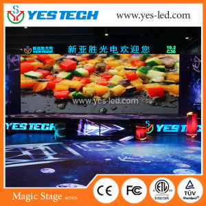 P4.8 Indoor RGB Video Play LED Display for Stage pictures & photos