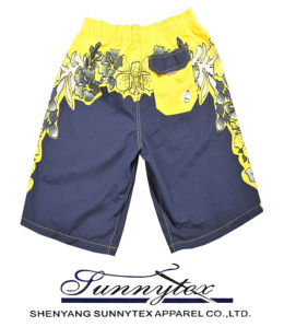 2017 Best Selling Men Beach Short Pants Men Swimwear pictures & photos