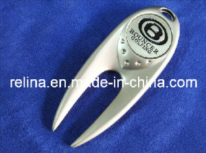 Customized Golf Divot Tool with Ball Marker/Hat Clip/Money Clip