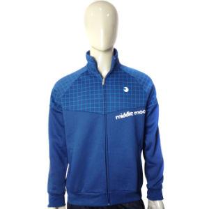 Custom Breathable Printed Fleece Jacket Sweatshirt pictures & photos