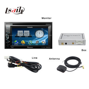 Adds-on Car Pioneer DVD Player with GPS Navigator by Wince OS pictures & photos