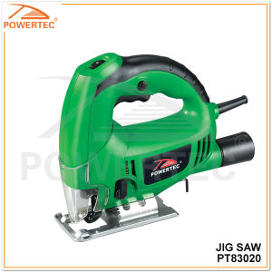 Powertec 610W 70mm Top-Handle Electric Jig Saw (PT83020) pictures & photos