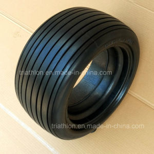 18X 8.50-8 Smooth Flat Free Solid Foam Golf Car Wheel pictures & photos