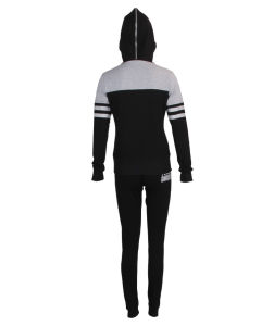 Custom Wholesale Ladies Cotton-Jersey Tracksuit pictures & photos