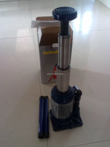 4t Two Stage Hydraulic Bottle Jack with Big Tray pictures & photos