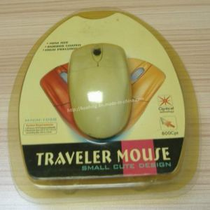 Transparent Plastic Blister Packaging for Computer Mouse pictures & photos