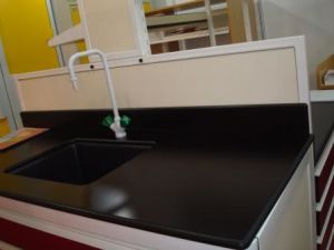 Epoxy Worktop College Lab Furniture