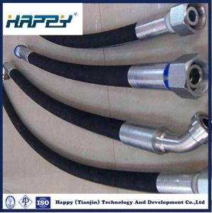 SAE100 R1 Hydraulic Wire Braided Rubber Hose pictures & photos