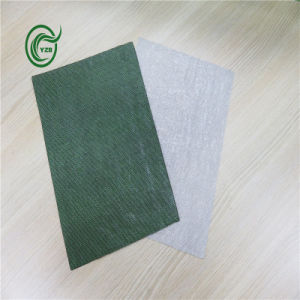 Woven Fabric PP Primary Carpet Backing for Carpet (Pb2813-Green) pictures & photos