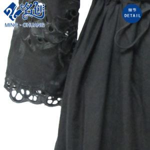 Fashion Ladies Lace Dress Black pictures & photos