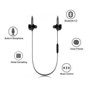Newest Design Sport Bluetooth Earphone of Moboile Phone Accessories pictures & photos