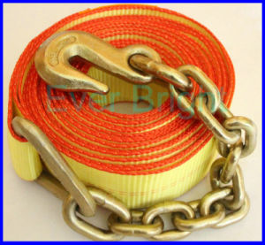 Bx0110 100mm Cargo Strap with Chain Anchor